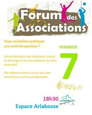Forum des associations Roquefort